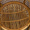 A second half of the 20th century rattan chair.