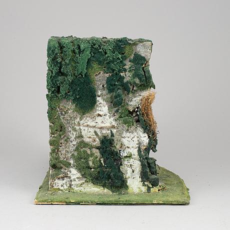 Ivor abrahams, skulptur, signerad och daterad 1975.