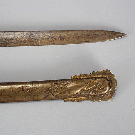 An american saber, second half of the 19th century.