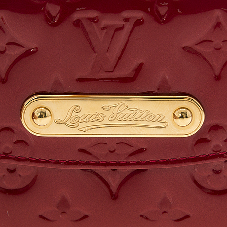 Louis vuitton, monogram vernis sunset boulevard shoulder bag.