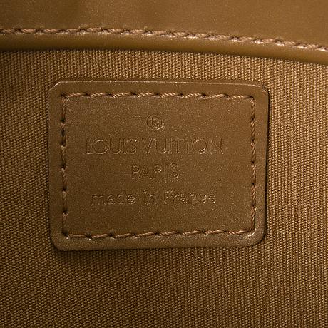 Louis vuitton monogram mat fowler bag.