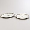 Burgess, leigh & co. two serving platters 'lorne'. england 1862-1867.