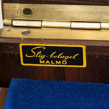 A casket for cutlery, stig-bolaget malmö, 1960's.