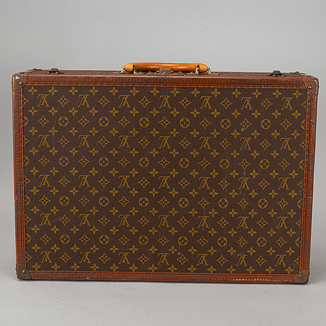 Louis vuitton, a monogram canvas, 'le loziné' suitcase.
