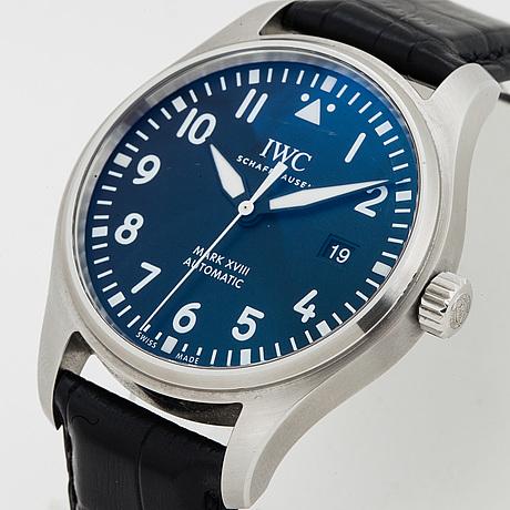 Iwc, schaffhausen, mark xviii, wristwatch, 40 mm.