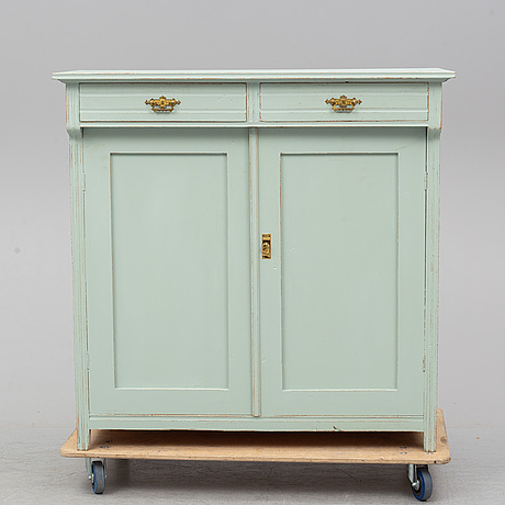 A painted sideboard, early 20th century.