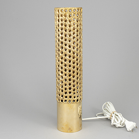 Pierre forssell, a brass lamp from skultuna, 1979.