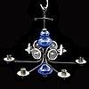 Erik höglund, a chandelier from boda smide.