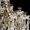 A ca 1900 chandelier.