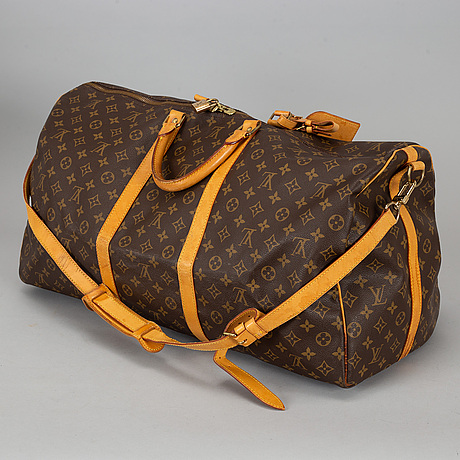 Louis vuitton, a 'monogram keepall bandouliere 60'.