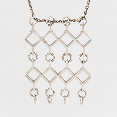 Jorma laine, design ruutu, silver pendant.