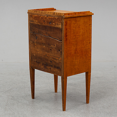 An early 20th century bedside table.