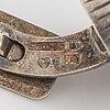 Elon arenhill, gustaf dahlgren & co, cufflinks, silver.
