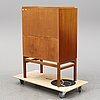 A mid 20th century secretaire by axel larsson, bodafors.