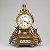 A mantle clock, early 20th century.