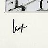 Åke lange, after, c-print, signed and numbered 2/5.