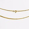 Ventiansk kedja 18k guld, ca 80 cm, 12,8 g.
