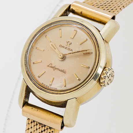 Omega, ladymatic, wristwatch, 20 mm.