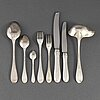 Wa bolin, 83 psc silver cutlery, model i, stockholm, some 1937.