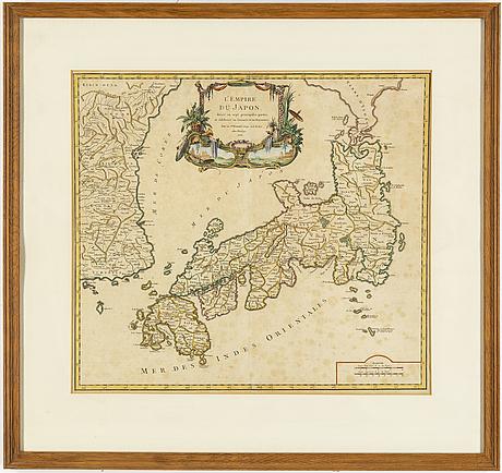 Maps/engravings, 3, 18th cenrtury.