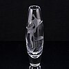 Vicke lindstrand, a glass vase, kosta.