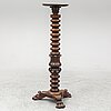 A mahogany pedestal, probably england, first half of the 20th century.