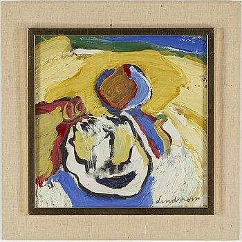 BENGT LINDSTRÖM, oil on canvas. Signed.