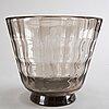 Simon gate, glass bowl, orrefors, 1930's.