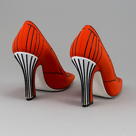 Fendi, a pair of high heels, size 40.