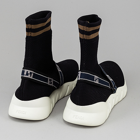 Fendi, a pair of sneakers, circa size 43.