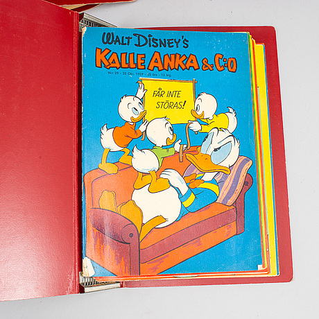 Kalle anka, 92 magazines, 1957-1959.