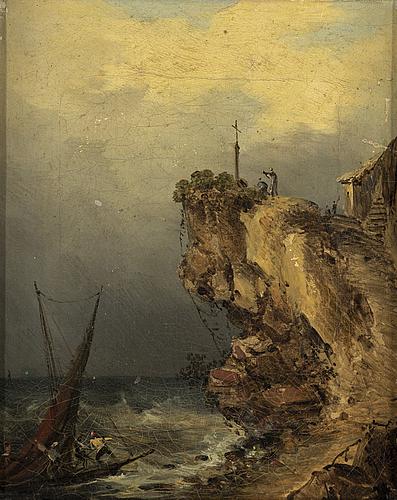 Pehr gustaf von heideken, oil on canvas, signed gvh.