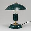 Bordslampa, edward hagman ab, norrköping, omkring 1900-talets mitt.