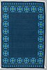 Berit woelfer, a carpet, double-sided machine made, ca 198-200,5 x 132,5 cm, signed bw.