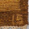 Ingegerd silow, a carpet, flat weave, ca 285 x 194,5 cm, signed is.
