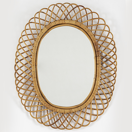 A 1940's swedish modern mirror.