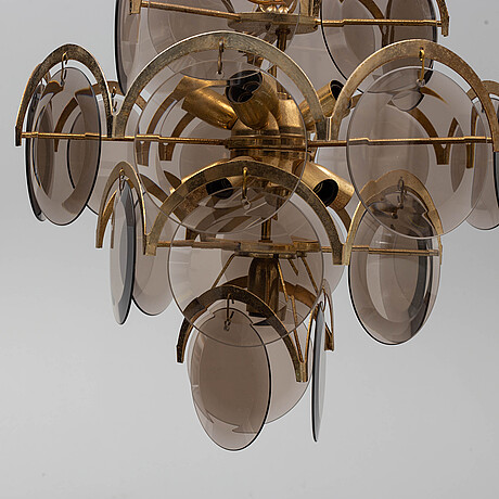 An italian ceiling light, 1960's/70's.