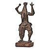 Eric grate, bronze brown patina, signed eric grate and numbered 1/5.