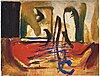 Co hultÉn, olja på duk, signerad och daterad 1963.