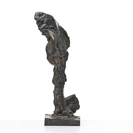 Sivert lindblom, a bronze sculpture, bronze dark patina, signed sl. and numbered 2/5.