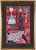 Max walter svanberg, gouache, signed and dated -59.