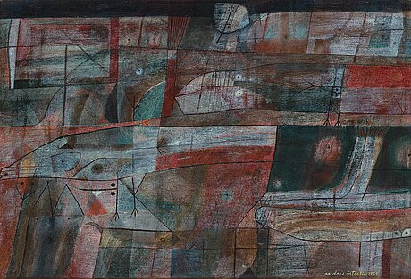 Anders Österlin, oil on canvas, signed and dated 1952.