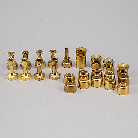 Hans-agne jakobsson,  22 brass candle sticks.