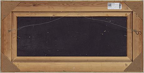 Lars norrman, oil on panel, signed.