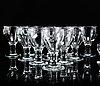 Signe persson-melin, a part 'ruben' glass service (18 pieces).