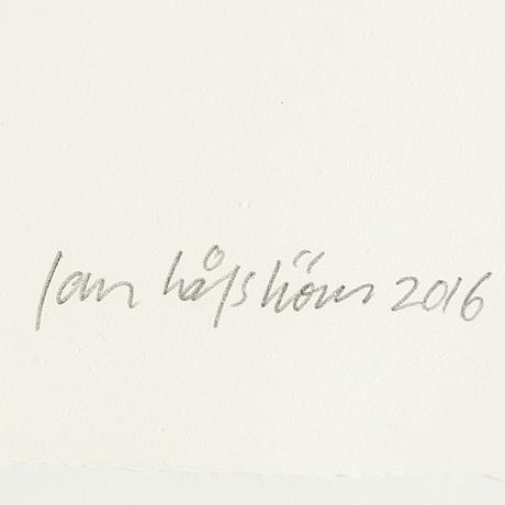 Jan hÅfstrÖm, offset, signed and numbered ea.
