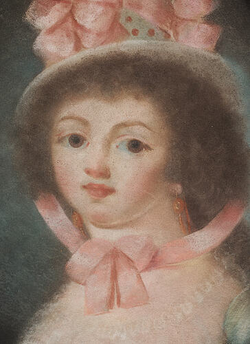 Unknown artist, 18/19th cenrury, pastel, signerad christian sjöberg and dated 1821 verso.
