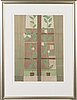 Veikko vionoja, colour lithograph, artist's proof, signed and dated 93.