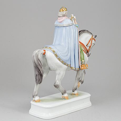 A herend porcelaine figurine.