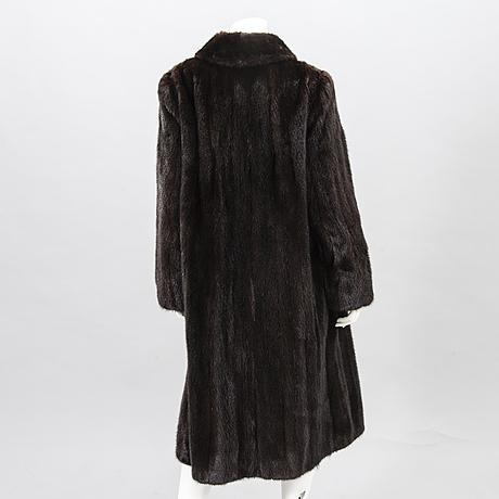 A saga mink fur coat.